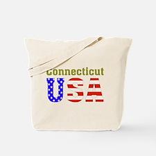 Connecticut USA Tote Bag