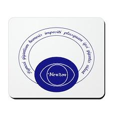 Newton Quote Latin Mousepad