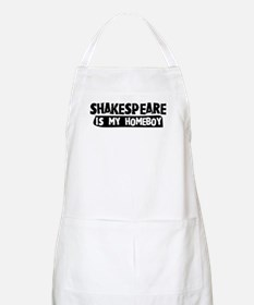Shakespeare is my Homeboy BBQ Apron