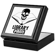Library Pirate Keepsake Box