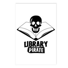 Library Pirate Postcards (Package of 8)