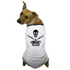 Library Pirate Dog T-Shirt