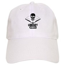 Library Pirate Baseball Cap