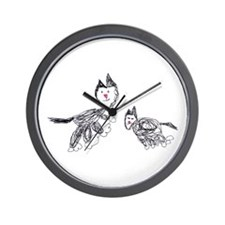 Cat Heaven Wall Clock