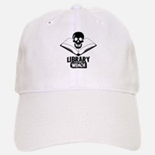 Library Pirate Baseball Baseball Cap