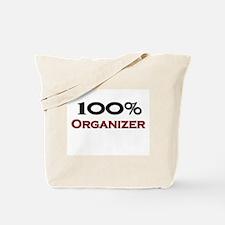 100 Percent Organizer Tote Bag