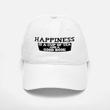 Tea & A Good Book Baseball Baseball Cap