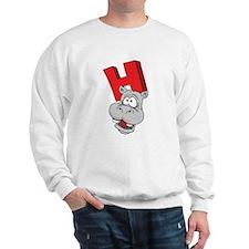 H Is For Hippopotamus Sweatshirt