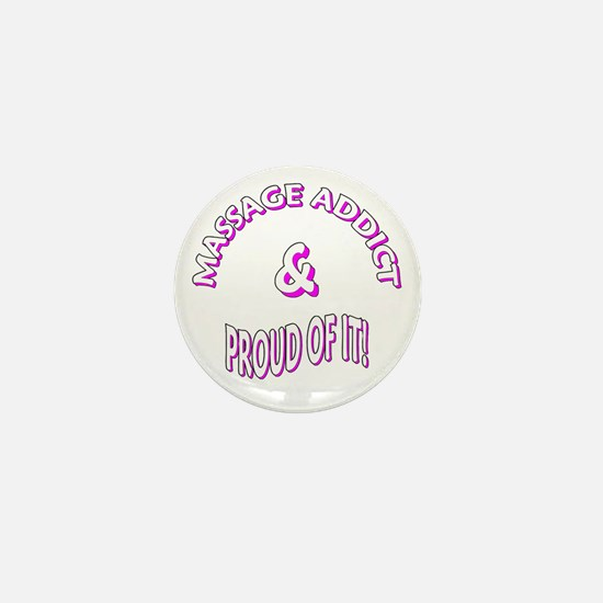 Massage Addict Mini Button