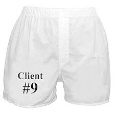 I am Client #9 Boxer Shorts