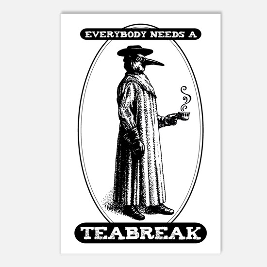 Everyone Needs Teabreaks Postcards (Package of 8)