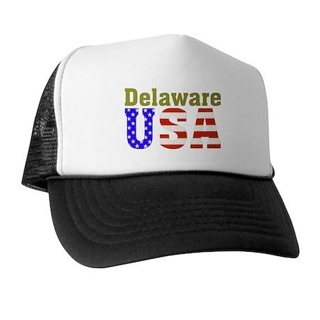 Delaware USA Trucker Hat