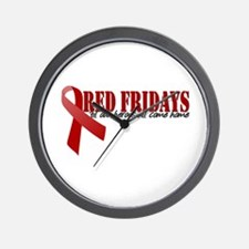 Cool Red friday Wall Clock