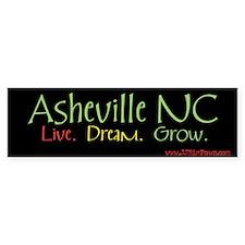 Asheville LDG Bumper Bumper Sticker