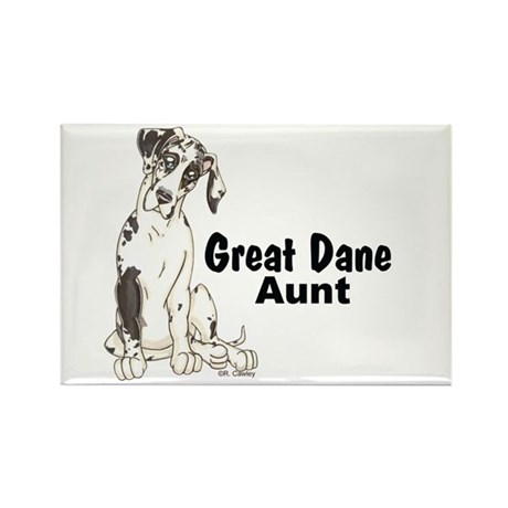 NH Pup GD Aunt Rectangle Magnet (100 pack)