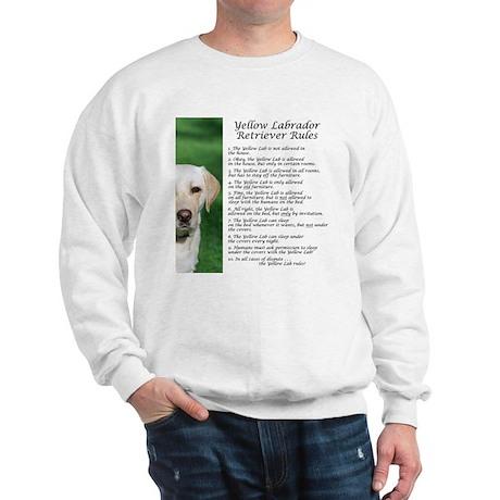 Yellow Lab Rules Sweatshirt