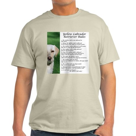 Yellow Lab Rules Light T-Shirt