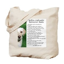 Yellow Lab Rules Tote Bag