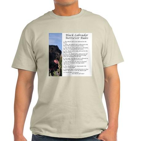 Black Lab Rules Light T-Shirt