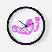 Reflexologist Wall Clock