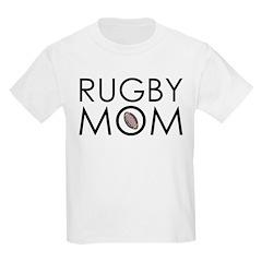 Rugby Mom Kids Light T-Shirt