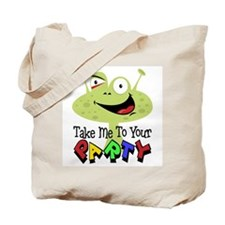 Take Me To Your Party Tote Bag