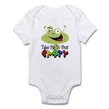 Take Me To Your Party Infant Bodysuit