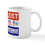 Re-Elect Client No. 9 Mug