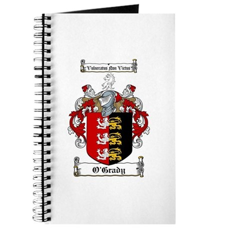 O'Grady Family Crest Journal