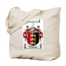 O'Grady Family Crest Tote Bag