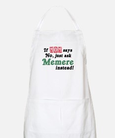 Just Ask Memere BBQ Apron