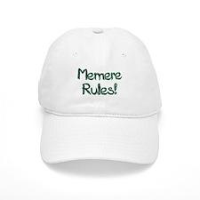 Memere Rules! Baseball Cap