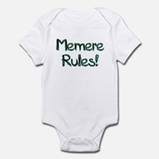 Memere Rules! Infant Bodysuit