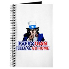 EveryJuan Illegal Go Home Journal