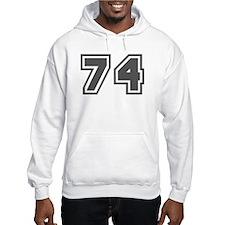 Number 74 Hoodie