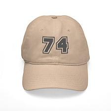 Number 74 Baseball Cap