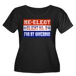 Re-Elect Client No. 9 Women's Plus Size Scoop Neck