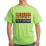 Re-Elect Client No. 9 Green T-Shirt