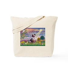 Cloud Angel / Aussie (bm) Tote Bag