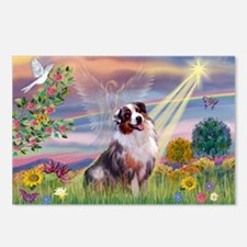 Cloud Angel / Aussie (bm) Postcards (Package of 8)