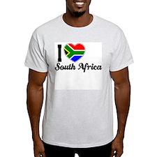 I love South Africa Ash Grey T-Shirt
