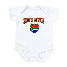 Bafana Bafana of South Africa Infant Bodysuit