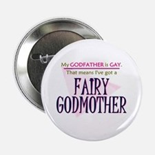 Fairy Godmother Button