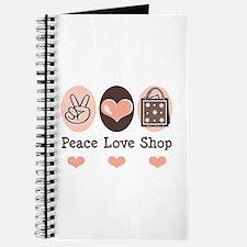 Peace Love Shop Shopping Journal