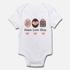 Peace Love Shop Shopping Infant Bodysuit