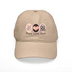 Peace Love Shop Shopping Cap