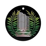 Masons Widow symbol Ornament (Round)