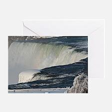Niagara Falls From Goat Island Greeting Card