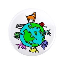 "Animal Planet Rescue 3.5"" Button"