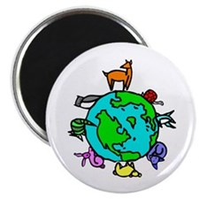"""Animal Planet Rescue 2.25"""" Magnet (10 pack)"""